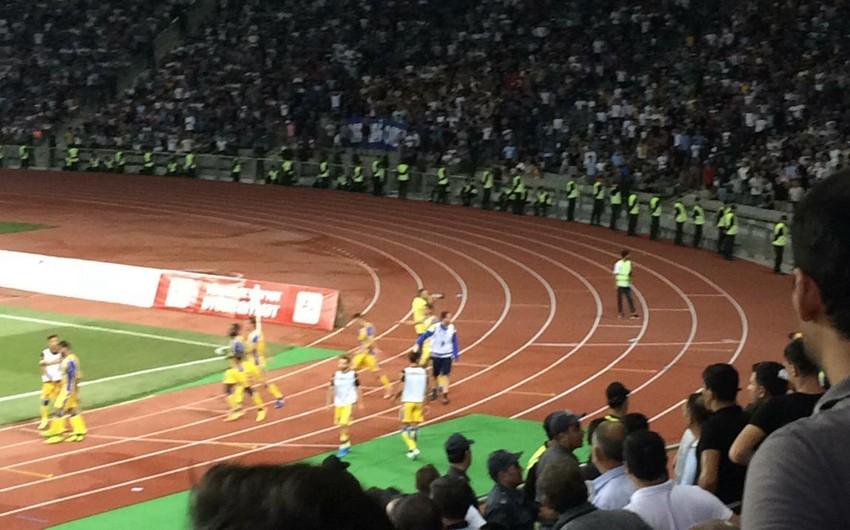 Qarabağ - APOEL oyununda insident baş verib