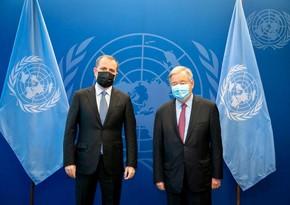 Antonio Guterres hails Azerbaijan's global initiatives to fight pandemic