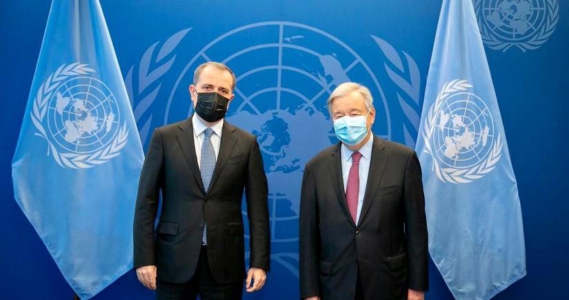 Antonio Quttereş Azərbaycanın pandemiyaya qarşı qlobal təşəbbüslərini yüksək qiymətləndirib