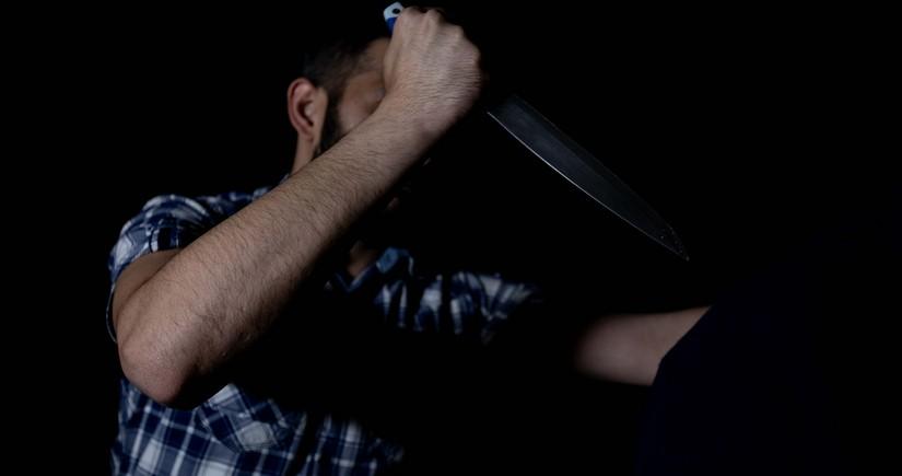 Şabran sakini həmyerlisini bıçaqlayıb