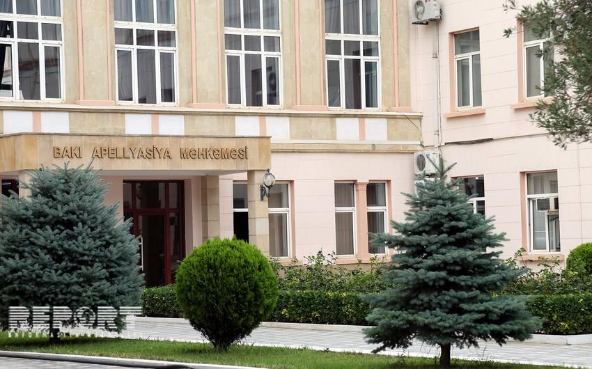 Elnur Seyidovun apellyasiya şikayəti təmin olunmayıb