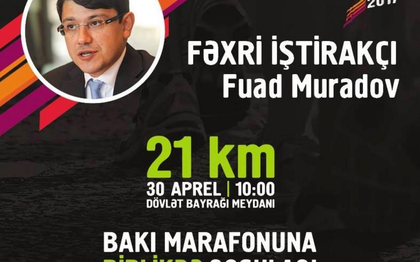 """Millət vəkili """"Bakı Marafonu 2017""""də iştirak edəcək"""