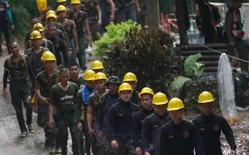 Taylandda uşaqların mağaradan xilası üzrə əməliyyat başa çatıb - YENİLƏNİB