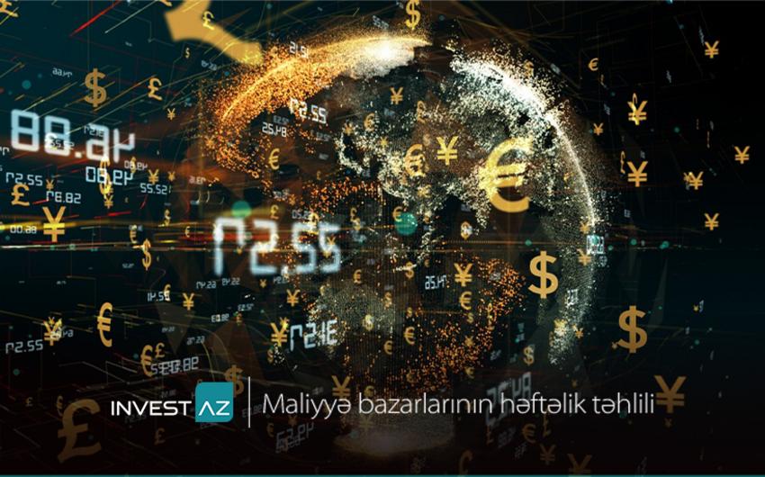 """""""InvestAZ""""dandünya maliyyə bazarları ilə bağlı həftəlik analiz"""