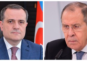 Foreign Ministers of Azerbaijan, Russia meet in Moscow