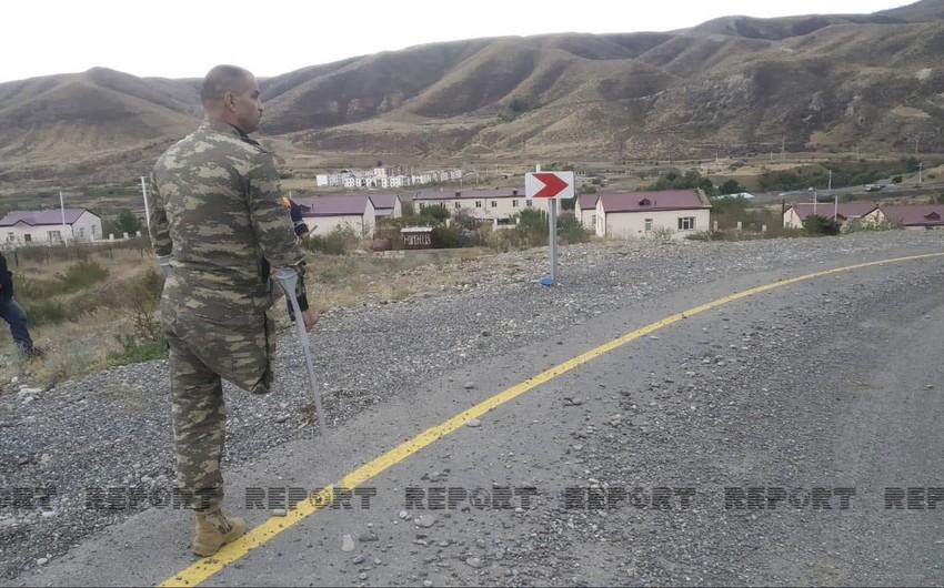 Qazi Suqovuşanda yaralandığı yeri ziyarət edib
