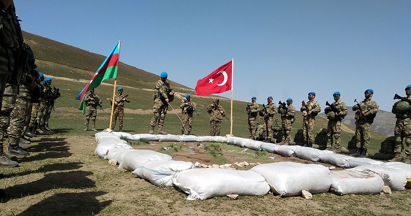 Azerbaijani and Turkish armies start joint operational-tactical exercises - VIDEO