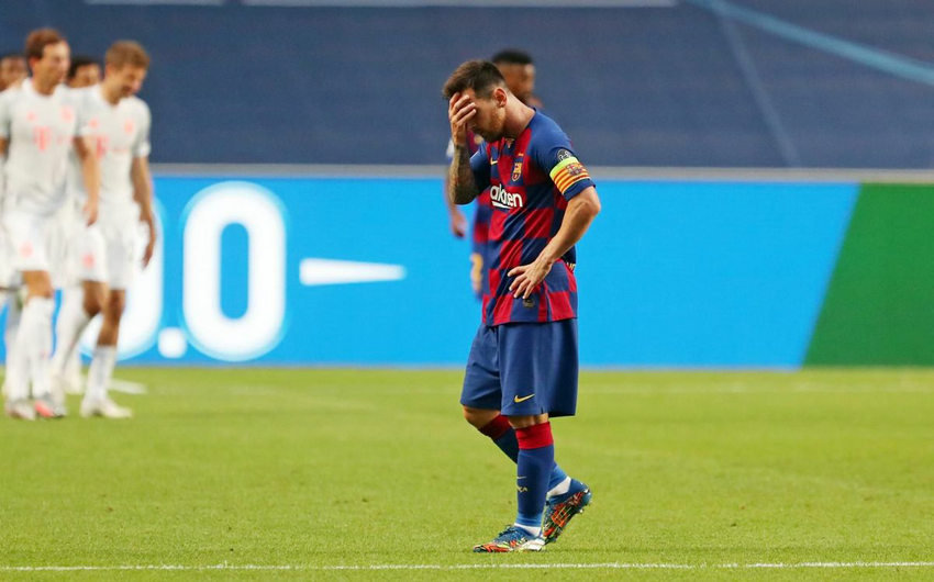 Barcelona concedes eight goals after 74 years
