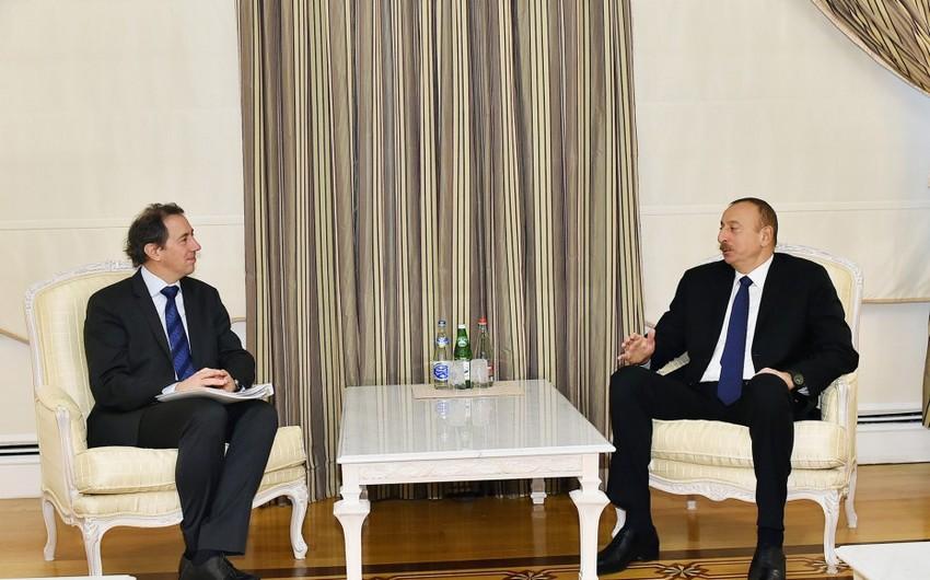 """Prezident İlham Əliyev: """"TANAP layihəsi vaxtında tamamlanacaq"""" - YENİLƏNİB"""