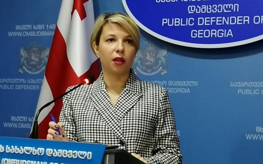 Gürcüstan ombudsmanı hökuməti sərt tənqid edib
