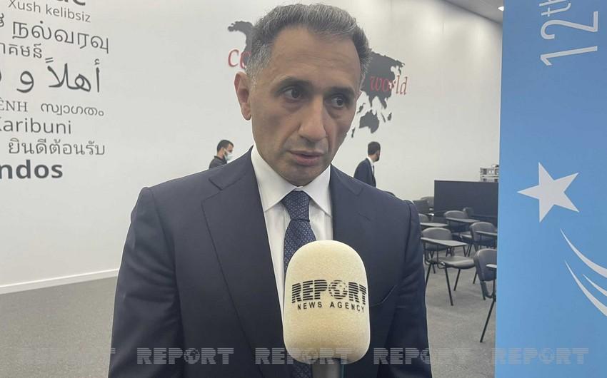 """Rəşad Nəbiyev: """"Bu günədək Bakı-Tbilisi-Qars dəmir yolu ilə 1,3 milyon ton yük daşınıb"""""""
