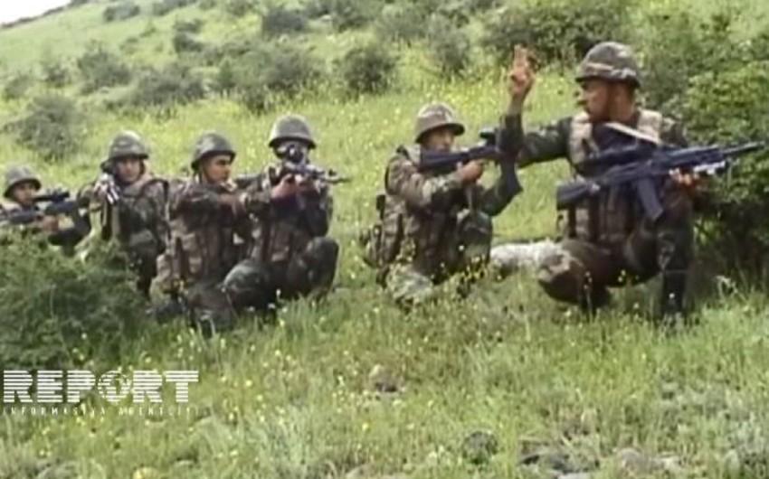 Azərbaycan ordusunun kapitanı: Düşmənə layiqli cavab verdik - VİDEOREPORTAJ