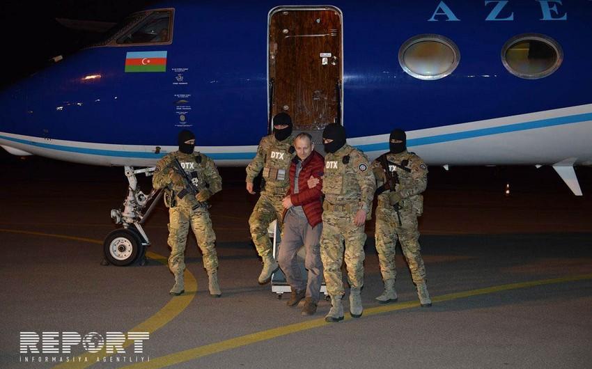 Александр Лапшин экстрадирован в Азербайджан - ФОТО - ВИДЕО