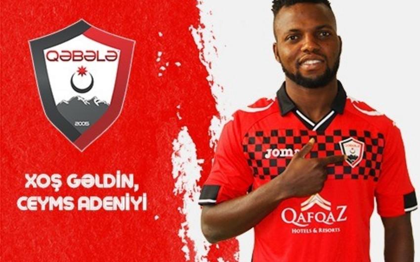Qəbələ klubu nigeriyalı futbolçunu transfer edib