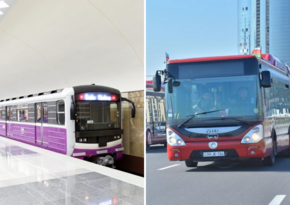 Baku metro, buses to suspend operation on weekends next month - DECISION
