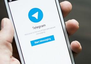 """""""Telegram""""ın işində nasazlıq yaranıb"""