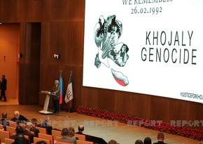 В университет ADA прошла конференция, посвященная 29-ой годовщине трагедии в Ходжалы