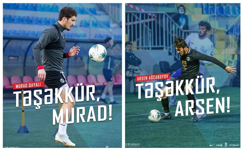 """""""Səbail"""" 3 futbolçusunu göndərdi -"""