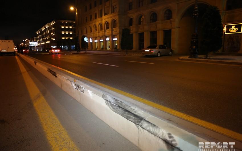В Ахмедлы произошла авария, сбит пожилой мужчина