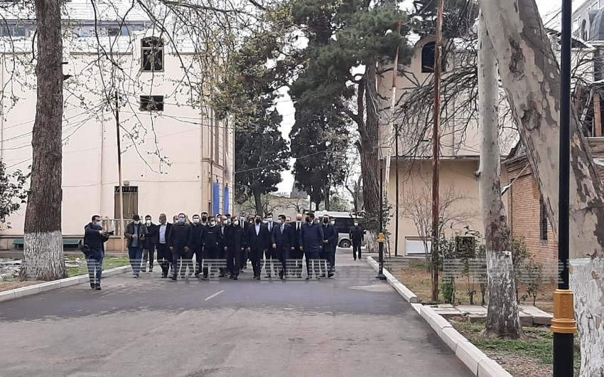 Turkic Council delegation arrives in Ganja