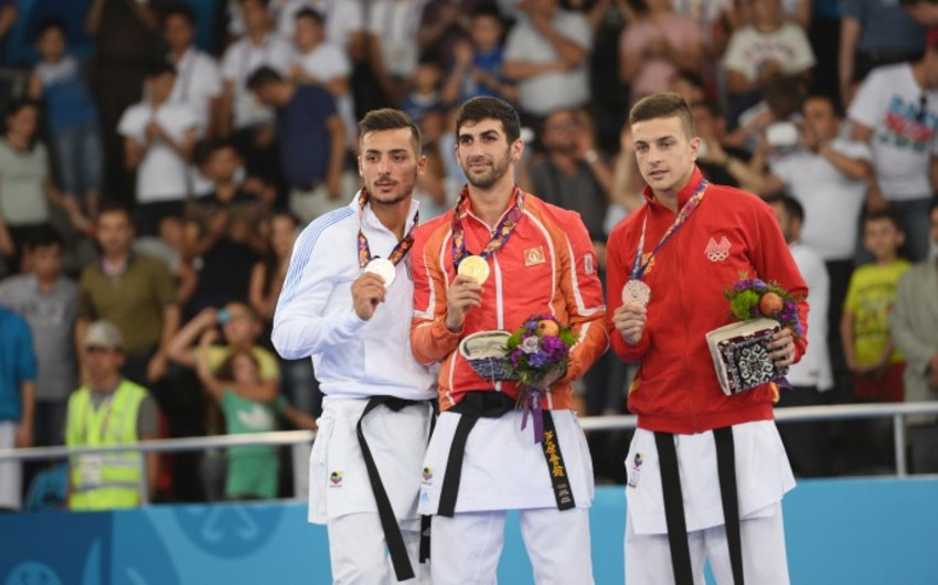 Bu gün Bakı 2015də daha 3 idman növündə qızıl medalların sahibləri müəyyənləşəcək