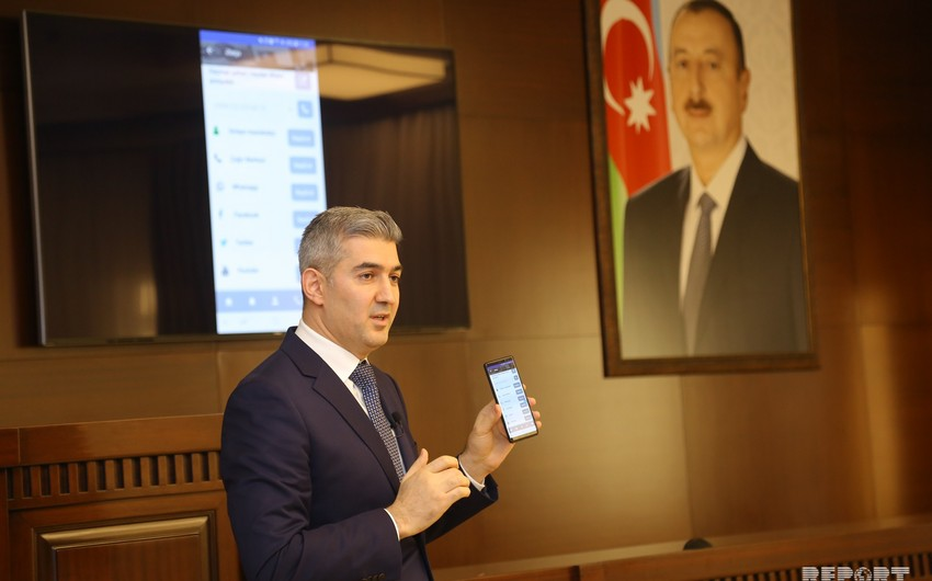 Dövlət Miqrasiya Xidmətinin yeni mobil tətbiqi ictimaiyyətə təqdim edilib