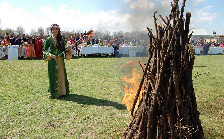 Qarabağlı gənclərin Novruz Festivalı keçirilib