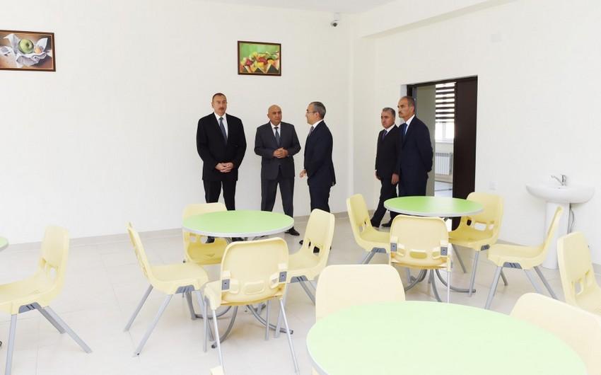 Qusarın Hil kəndində tam orta məktəbin yeni binası istifadəyə verilib