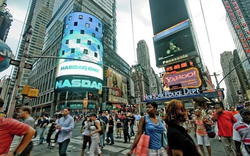 ABŞ-ın fond bazarı azalma ilə bağlanıb