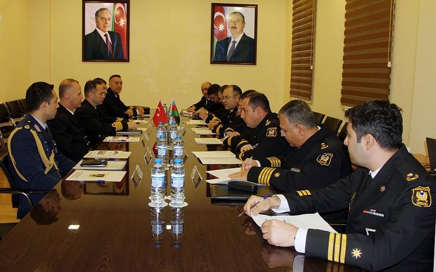 Делегация ВМС Турции находится с визитом в Азербайджане