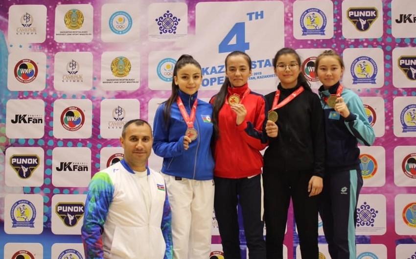 """""""Judo Club 2012""""nin karateçisi """"Qazaxıstan Open""""də gümüş medal qazanıb"""