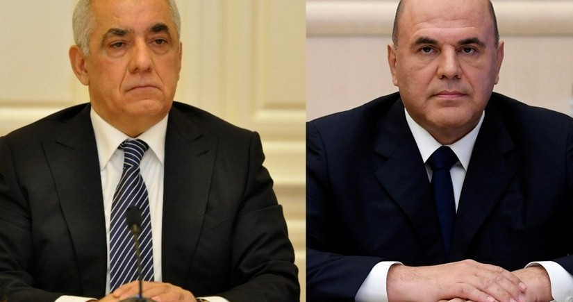 Mixail Mişustin Əli Əsədovu Rusiyaya rəsmi səfərə dəvət edib