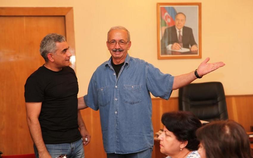 Azərbaycanfilm kinostudiyasında Elçin Musaoğlunun yubileyi qeyd edilib