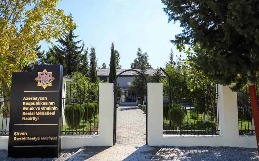 Şirvanda müasir Reabilitasiya Mərkəzi açıldı