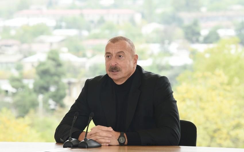 """Azərbaycan Lideri: """"Ermənistanın tarixi də, keçmişi də, dövlətçiliyi də saxtadır"""""""