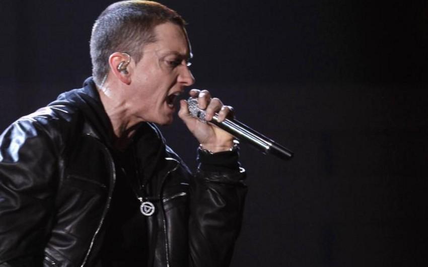 Eminem rep demək sürətində öz rekordunu yeniləyib