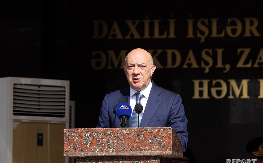 Prezident İlham Əliyev Azərbaycan polisinin 100 illiyi münasibətilə polis əməkdaşlarını təbrik edib