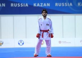 Azərbaycan karateçisi: Finalda taktiki səhvlərə görə uduzdum