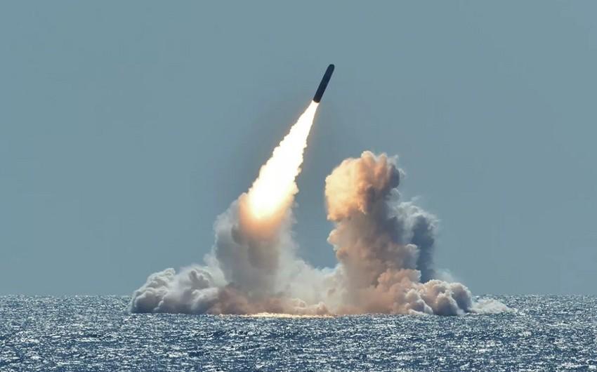 ABŞ nüvə sualtı qayığından 4 ballistik raket buraxıb