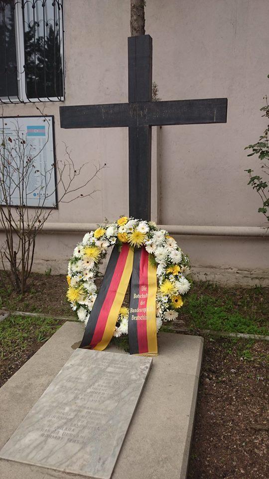 German Embassy to Azerbaijan to commemorate memory of war victims
