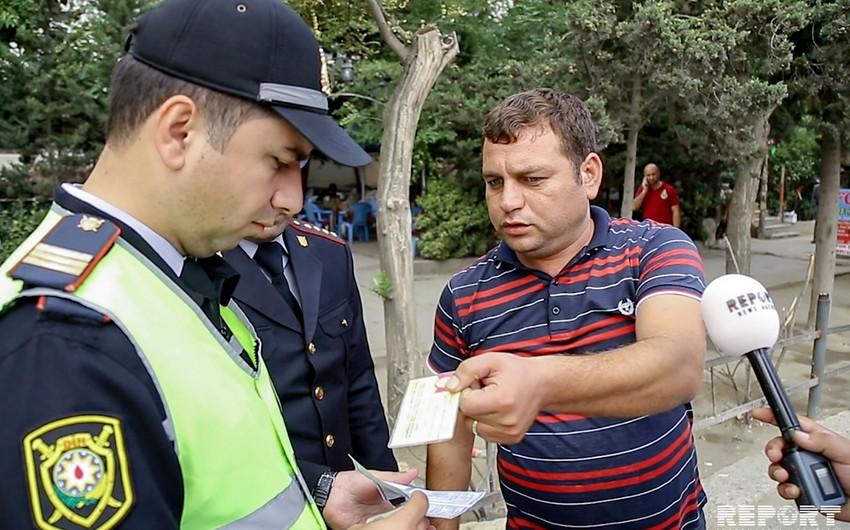 DYP Bakıda reyd keçirib, 50-yə yaxın sürücü barədə inzibati tədbir görülüb - FOTO - VİDEO