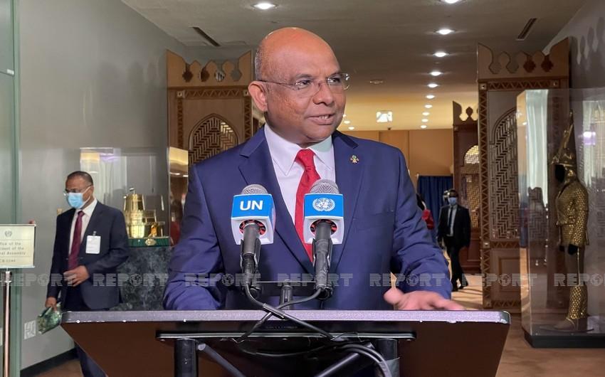 UN General Assembly president on Azerbaijani-Armenian dialogue
