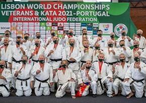 Azərbaycanın veteran cüdoçuları dünya çempionatını 8 medalla başa vurub