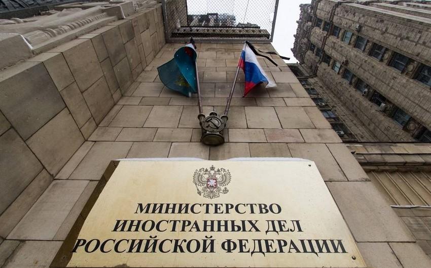 Rusiya XİN: Tərəfləri danışıqlara başlamağa çağırırıq