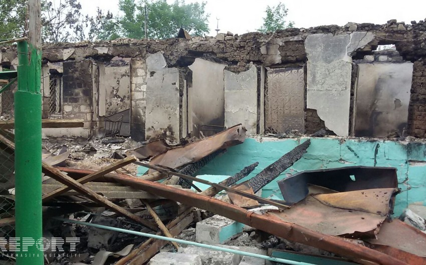 İcra başçısı: Ağdamda 59 evə ziyan dəyib, 12 ev tamamilə dağıdılıb, 1 ev yanaraq kül olub - FOTO
