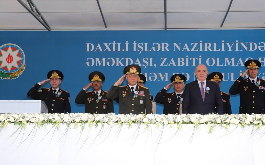 Azərbaycan polisinin yaranmasının 99-cu ildönümü qeyd olunub