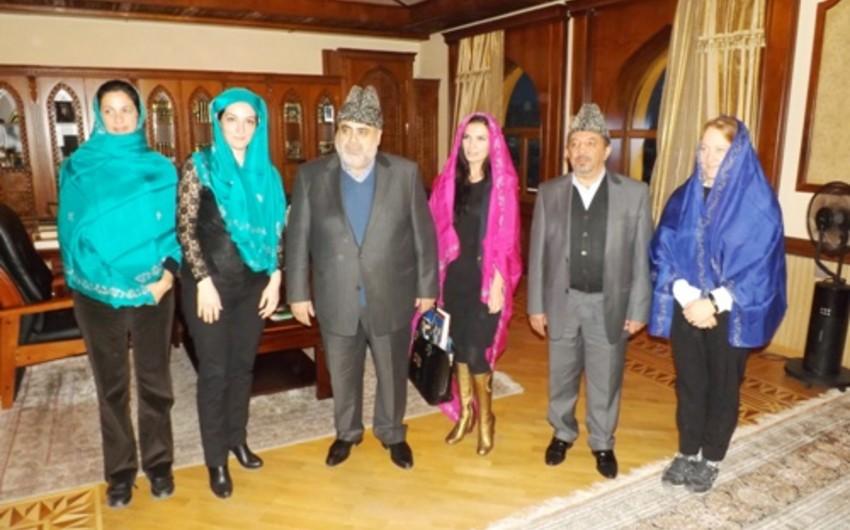 Allahshukur Pashazadeh invites Italian journalist to Baku