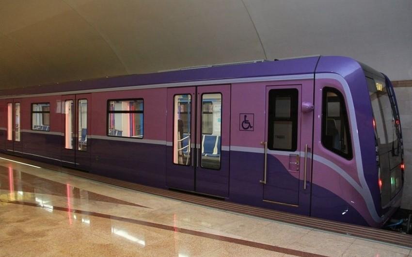 Növbəti iki yeni metro qatarı Bakıya gətirilib