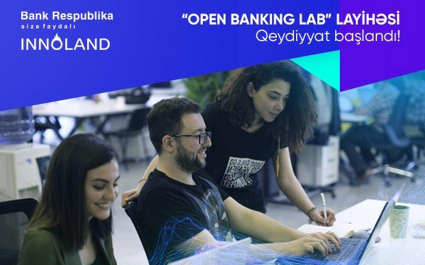 """""""Bank Respublika"""" və INNOLAND """"Open Banking Lab"""" layihəsinə qeydiyyata başlayıb"""