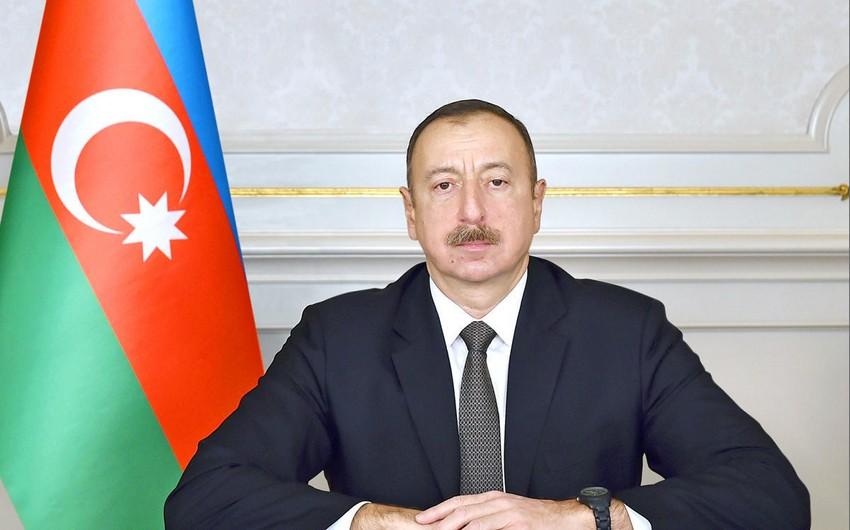 Ильхам Алиев направил письмо Дональду Трампу